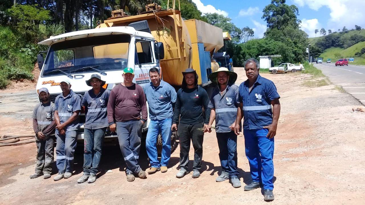 Pavimentação asfáltica e recuperação de ruas em Bandeira do Sul